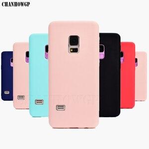 Image 1 - Funda de silicona suave TPU Color caramelo para Samsung Galaxy S5 S 5 SV i9600 G900F S5 Neo SM G903F G903 S5 Duos G9006 G9006V, funda, Capa