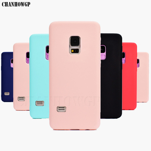 Soft Silicone TPU Candy Color Case for Samsung Galaxy S5 S 5 SV i9600 G900F S5 Neo SM-G903F G903 S5 Duos G9006 G9006V Cover Capa(China)