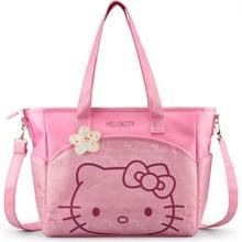 Oxford bonjour kitty maman sac Femmes achats Occasionnels sac de Bande Dessinée sac femmes fourre-tout pique-nique sac 2 couleurs