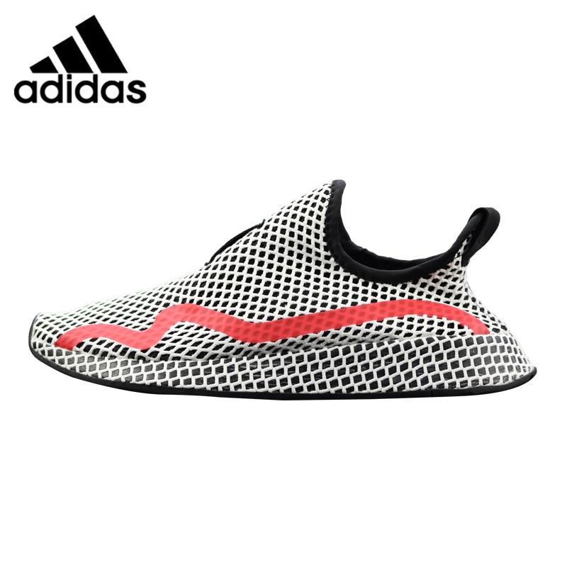 Adidas Deerupt Runner Women's Running Shoes Grey & Red Shock-absorbing Lightweight Breathable CG6089 water absorbing oil absorbing cleaning cloth