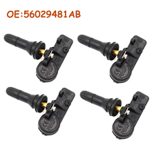 4 pcs/lot OEM 56029481AB For Chrysler Jeep New Car TPMS Tire Pressure Sensor Monitor 433MHz car accessories
