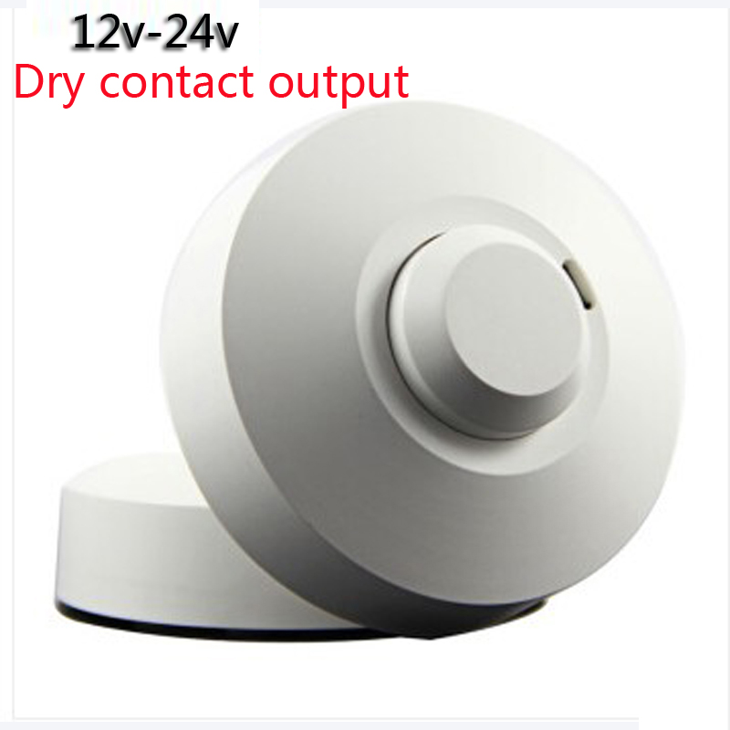 Dc12v 24v Dry Contact Output Led Microwave 360 Degree