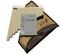 Pan Flute 16 Pipes ABS Wind Instrument Panpipe C Key Flauta Handmade Panflute Flauta Folk Musical Instruments 16 Pipes