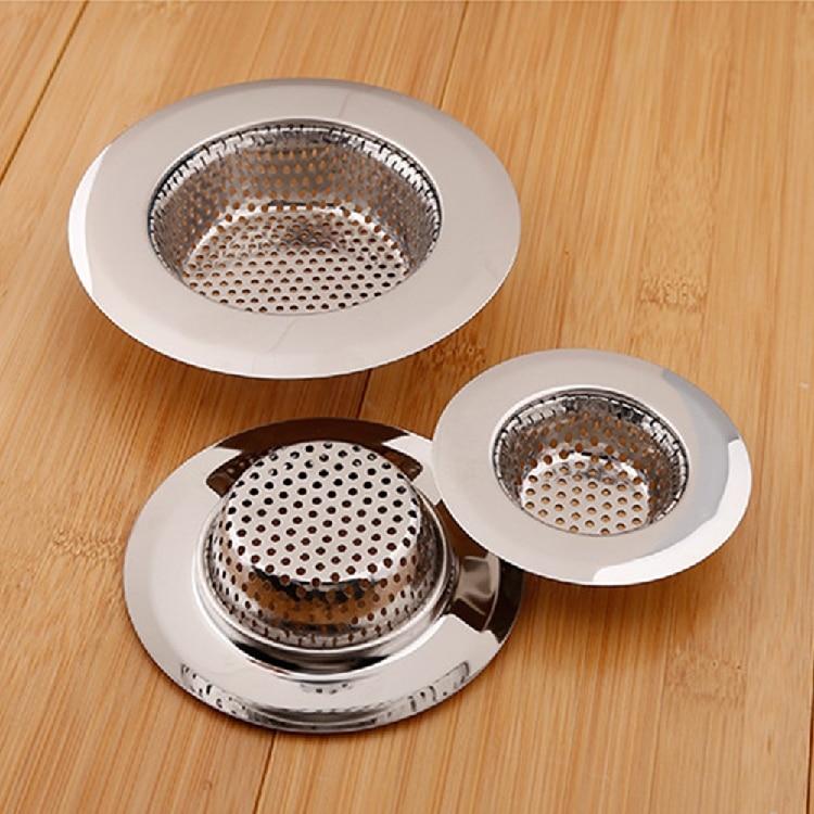 Stainless Steel Sink Filter Creative Kitchen Sink Filter Water Trough Shower Barbed Wire Drain Deep Drain