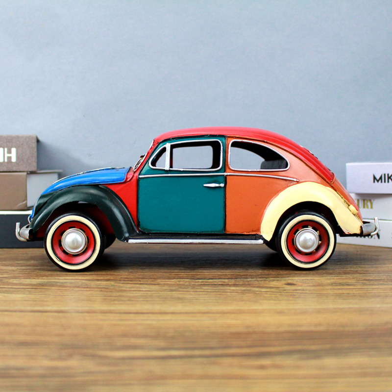 COOL!1934 Volkswagen Beetle Classic Car Model Locomotive