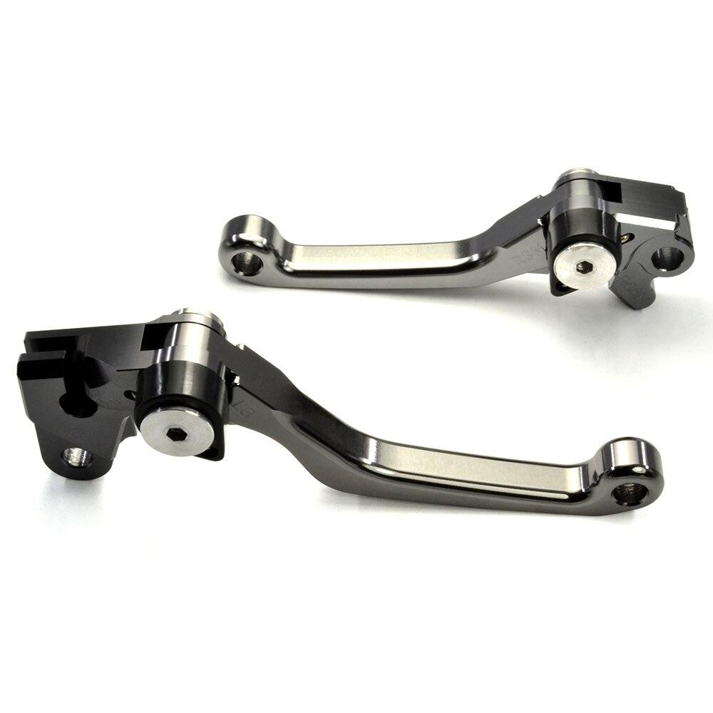 CNC Pivot Brake Clutch Levers For Kawasaki KX250F KX450F 2013 2014 2015 2016 2017 For Yamaha YZ125 YZ250 YZ250F YZ426F YZ450F 2016 cnc pivot dirt bike adjustable clutch brake levers for yamaha yz250fx 2015 2016 yz426f 450f 2009 2016 yz250f 2009 2016 2015