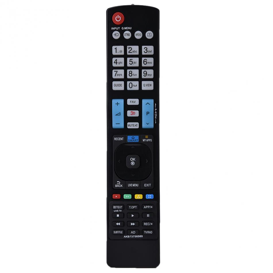 Smart TV Télécommande LCD IR Sans Fil Télécommande Remplacement AKB73756565 Pour LG