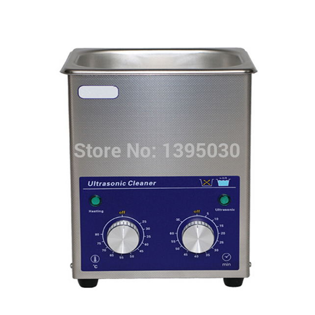 1PC 1.3L Stainless Steel Digital PCB Mechanical Jewelry Ultrasonic Cleaner With Basket  AC110/220V