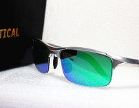 Polarized Mirror Lenses Sunglasses With Myopia Power EXIA OPTICAL KD 320 Series