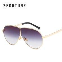 BFORTUNE Nuevo Piloto de La Vendimia gafas de Sol Mujeres Diseñador de la Marca de Lentes de Color Retro Shades Gafas de Sol Gafas De Sol Gafas Feminino