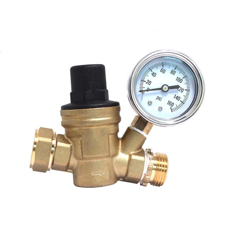 DN15 brass adjustable Water Pressure reducing valve цены онлайн