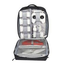 CADeN W8 Дрон сумка для ноутбука и камеры чехол жесткий рюкзак бизнес багаж дорожная сумка через плечо с дождевиком для Xiaomi Mi Дрон