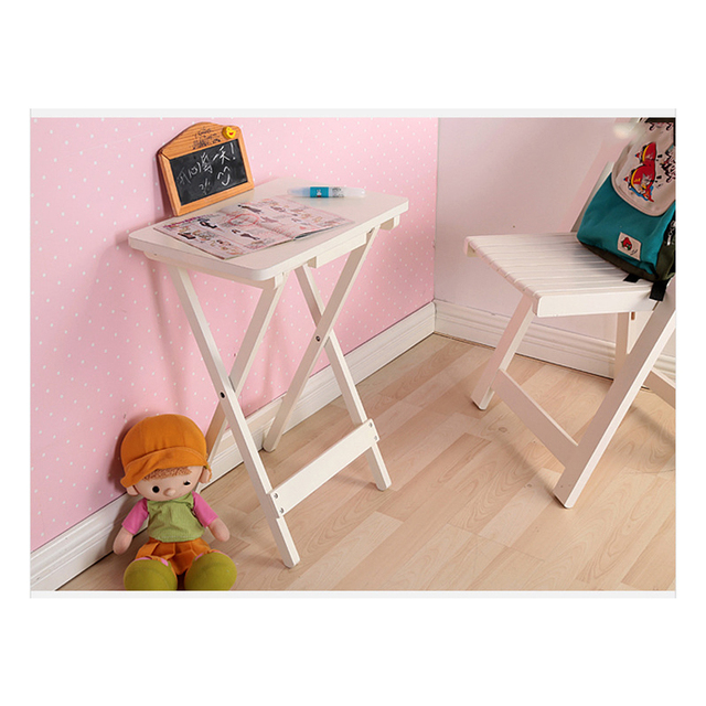 Home Simple Folding Small Desk Foldable Coffee Table Hotel Bedroom ...