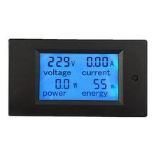 PZEM-061 Digital Voltage Meter 100A Voltage Current Power Energy Voltmeter Ammeter + CT Current Transforme Teste AC measured voltage and current the digital table ut890d ut890c backlit capacitive 100mf