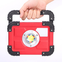 FGHGF 30W LED Portable Rechargeable Flood Light Spot Work Outdoor Lawn Lamp Roadway Safety Traffic Light