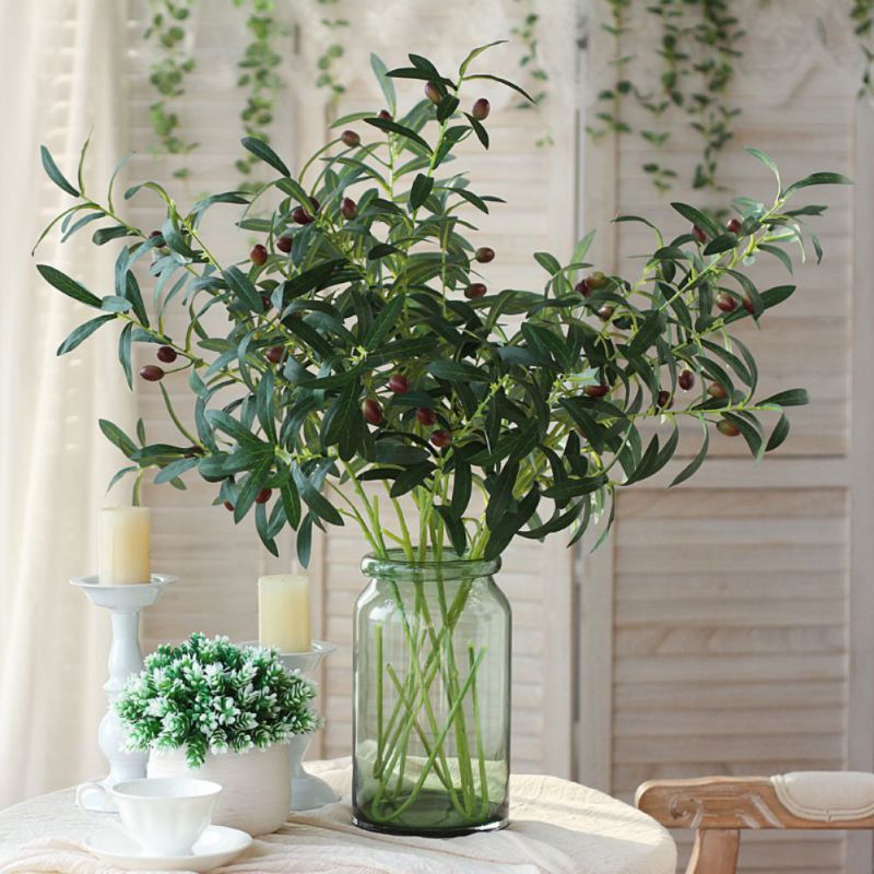Green Simulation Artificial Olive Branch