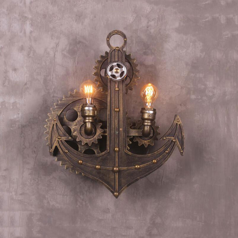 Supply Retro Wall Lamps Vintage Loft Art Lighting Fixtures Living Room Restaurant Bedroom Church Dining Room Pub Club Cafe Light Bra Products Hot Sale Led Lamps
