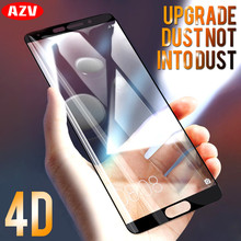 AZV 4D Tempered Glass For Huawei P9 P10 Plus P10 P9 Lite Screen Protector For Huawei Mate 8 9 10 10 PRO 10 Lite Protective film