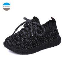 От 1 до 12 лет модные детские кроссовки для маленьких мальчиков и спортивная обувь для девочек детская повседневная обувь с мягкой подошвой кроссовки