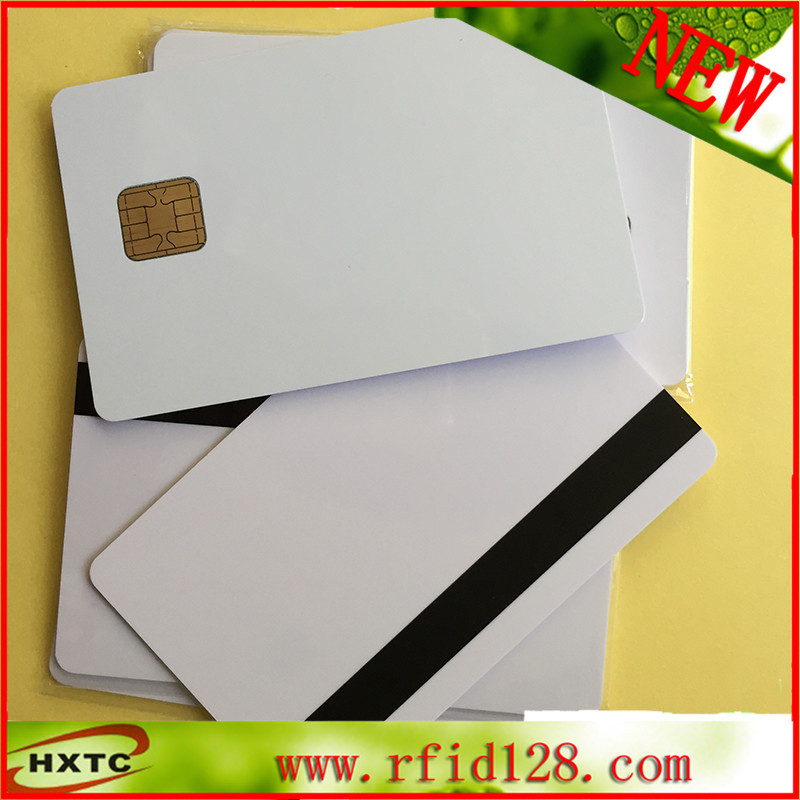 Free shipping J2A040 Chip with 2 track Hi-co Magnetic Stripe card JAVA Card Compatible JCOP21 36K 50PCS/ Lot