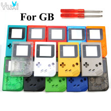 YuXi New Plastic Shell Case Cover For Gameboy Classic for Nintendo GB Console Housing with screwdrivers стоимость