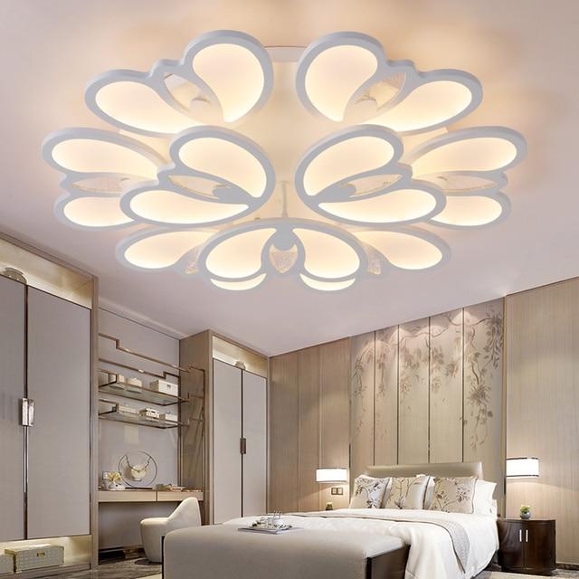 factory outlet modernen fhrte kronleuchter fr wohnzimmer schlafzimmer kche glanz lamparas de techo kronleuchter leuchten - Kronleuchter Fur Wohnzimmer