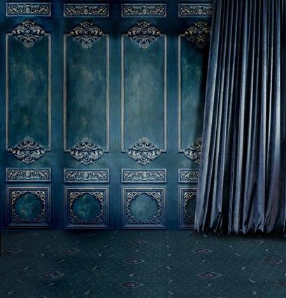 Dark Blue Door&Curtain 5x7ft Computer-Painted Vinyl Backdrops for Photography Children Wedding Photo Studio Background napapijri guji check dark blue