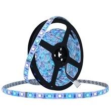 LED Strip 5050 DC12V 60LEDs/m 5m/lot LED Ribbon Tape with self Adhesive Flexible LED Light RGB RGBW 5050 LED Strip Home Lighting
