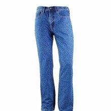 Tengo Marke Echte Business Casual Gerade Taille Lose Große Größe männer Jeans Hohe Qualität Jeans Large Size Plus größe