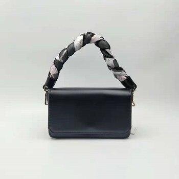 Brand women's Bags Famous Brands Women Handbags 2019 Fashion Shoulder Bag Sac A Main Femme Charle Simple Lady Handbag Weaving