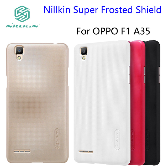 Oppo F1 Case Nillkin Super Frosted Shield Cover Oppo A35 Phone Cases
