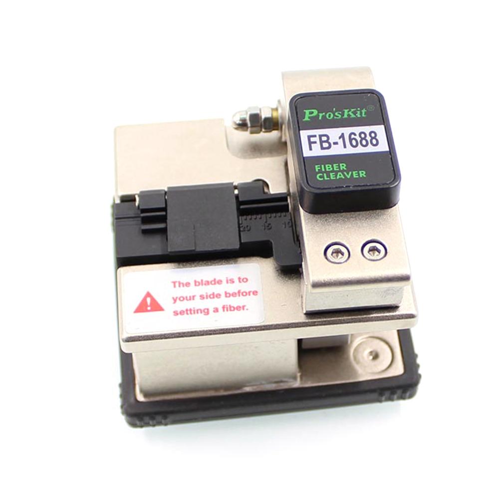 Pros'kit FB-1688 couperet à Fiber optique 48000 fois Proskit couperet à Fiber de haute précision FB-1688 outil de sertissage à froid à fibre FTTH