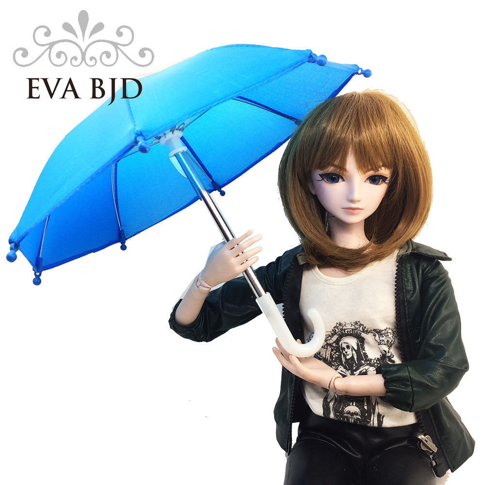 EVA BJD 20 kind of colors for choosing Diameter 25cm Toy Umbrella for 1/3 1/4 BJD SD Doll for dolls Accessories handsome grey woolen coat belt for bjd 1 3 sd10 sd13 sd17 uncle ssdf sd luts dod dz as doll clothes cmb107