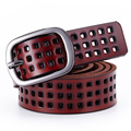 [HIMUNU] 2017 New High Quality Genuine Leather Belts for Women Fashion Hollow Out Design Genuine Leather Belt Women Female Belts