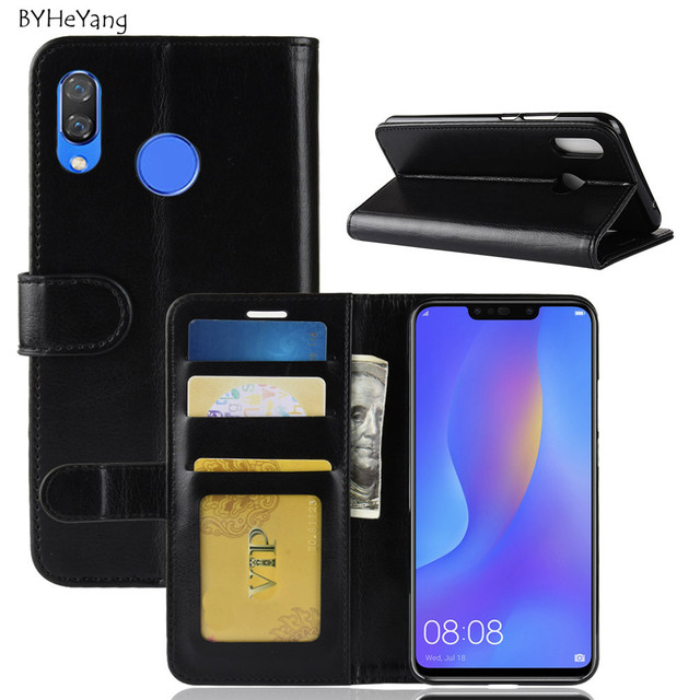 separation shoes fc4f2 03dca US $4.1 |For Huawei Nova 3i Case for Huawei P Smart Plus Cover Wallet Phone  Cover PU Leather Flip Case For Huawei Nova 3i / P Smart Plus-in Wallet ...