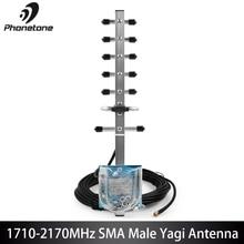 1710-2170MHz Connector Yagi 12dBi