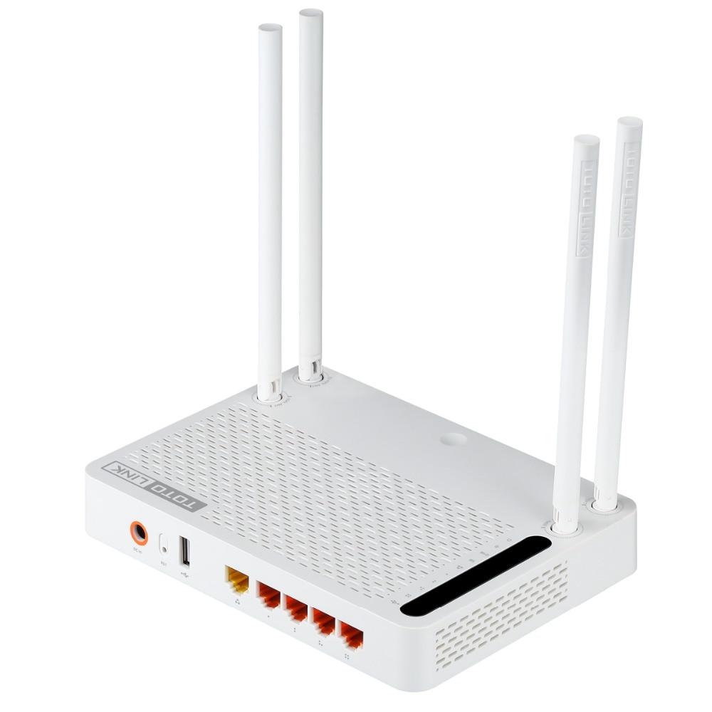 TOTOLINK A3002RU AC1200 Wireless Dual Band Gigabit WiFi Router Wireless Repeater WiFi Repeater With English Firmware