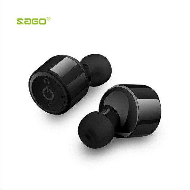 Sago X1T True wireless mini earbuds In-Ear earphone invisible bluetooth CSR4.2 headset sports handfree headphone for iphone
