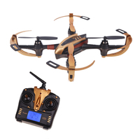 Yizhan X4 4CH 2.4G 6 Axis afstandsbediening helicopter Speelgoed UFO 3D Vliegende Dron Zender met Lcd-scherm Quadrocopter
