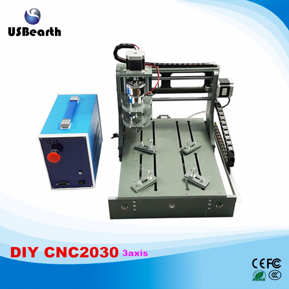 Free tax to EU newest mini cnc router price 2030 parallel port 3 axis cnc engrave machine free tax to eu high quality cnc router frame 3020t with trapezoidal screw for cnc engraver machine