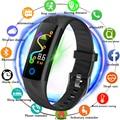 LUIK Smart Armband Mannen IP68 Diepte Waterdichte Sport Horloge Smart Fitness Tracker Bloeddruk Hartslag Monitoring Stappenteller