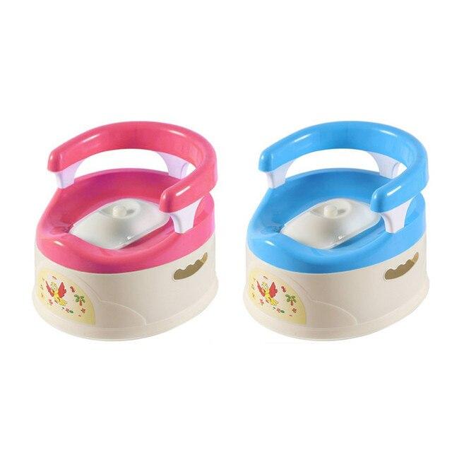 Cute Baby Boys Girls Potty Training Toilet Seat for Children Kids Plastic Non-slip Portable Travel Chair Pee Trainer Potties
