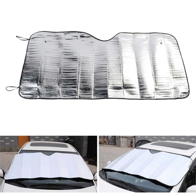 Universella bilöverdrag Front Window Sunshade Täcker UV Protect Covers Shade Windshield Auto Windshield Sunshades Tillbehör
