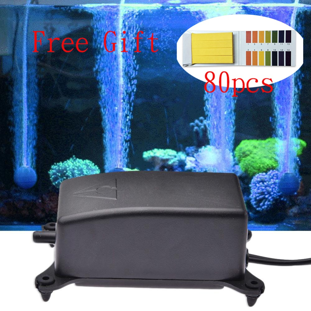 Culture Fish Oxygen Pump Mute Oxygen Pump Fish Tank Oxygen Filling Pump Small-sized Hit Oxygen Machine Aquarium Articles 390 Hand & Power Tool Accessories