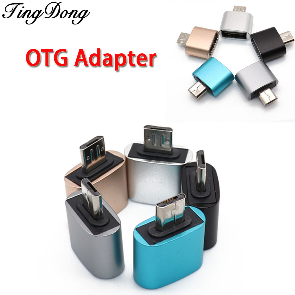 OTG Converter Micro USB  Male To USB 2.0 Female Adapter For Android Phone Tablets GPS PDAs OTG Devices Cameras