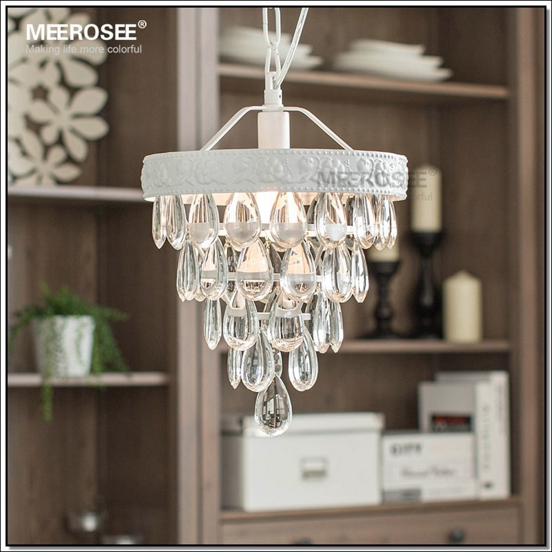 Abajur Chandelier Re De Cristal Vintage Mini Light Fixture Suspension Lamp Hanging For Dining Room Porch Aisle In Chandeliers From Lights
