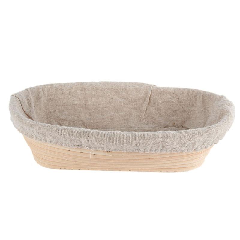 Fabrik Preis! Ovaler Teig Banneton Brotform Dougn Rattan Brot - Küche, Essen und Bar - Foto 5