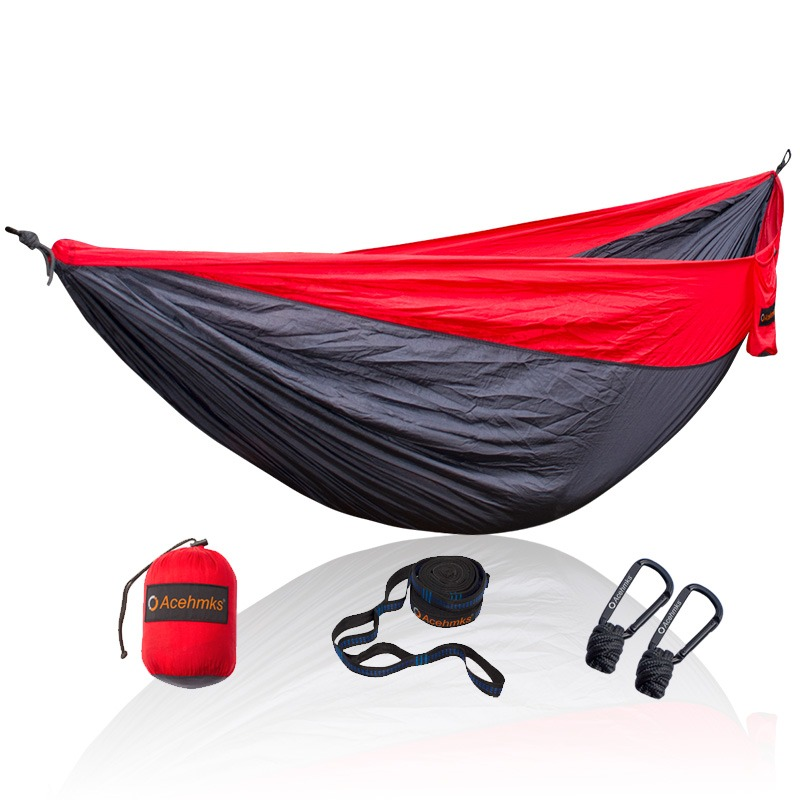 Furniture 2 Person Two-person Outdoor Furniture Survivors Camping Travel Hammock Xl 10 Feet Nylon Ultralight Portable Folding Hammock Making Things Convenient For The People Outdoor Furniture