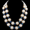 L Y  Crystal Jewelry Fashion New Arrival Pearl Chokers Necklaces NK-01360