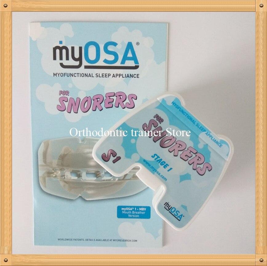 MRC Sleep appliance S1/MyOSA For Snorers Sleep Disorder Breathing trainer/TMJ Teeth trainer Appliance dental teeth trainer for tmj disorder mrc teeth trianer appliance tmj